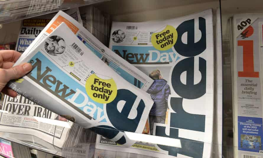 The New Day is to be axed by Trinity Mirror just two months after its launch.