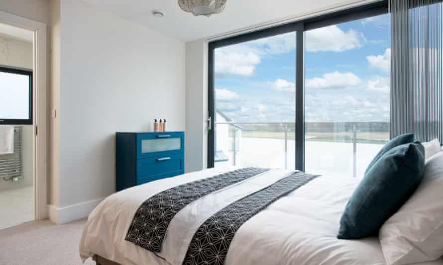 Bedroom 14 at Beaumont village.