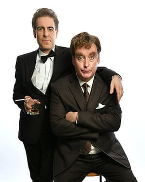 Simon Cartwright and Mark Farrelly in Howerd's End, coming to the new Golden Goose theatre.