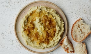 Anna Jones's fave puree with honeyed onions.
