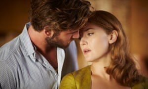 Liam Hemsworth and Kate Winslet in The Dressmaker, directed by Jocelyn Moorhouse and adapted from Rosalie Ham's debut novel of the same name.