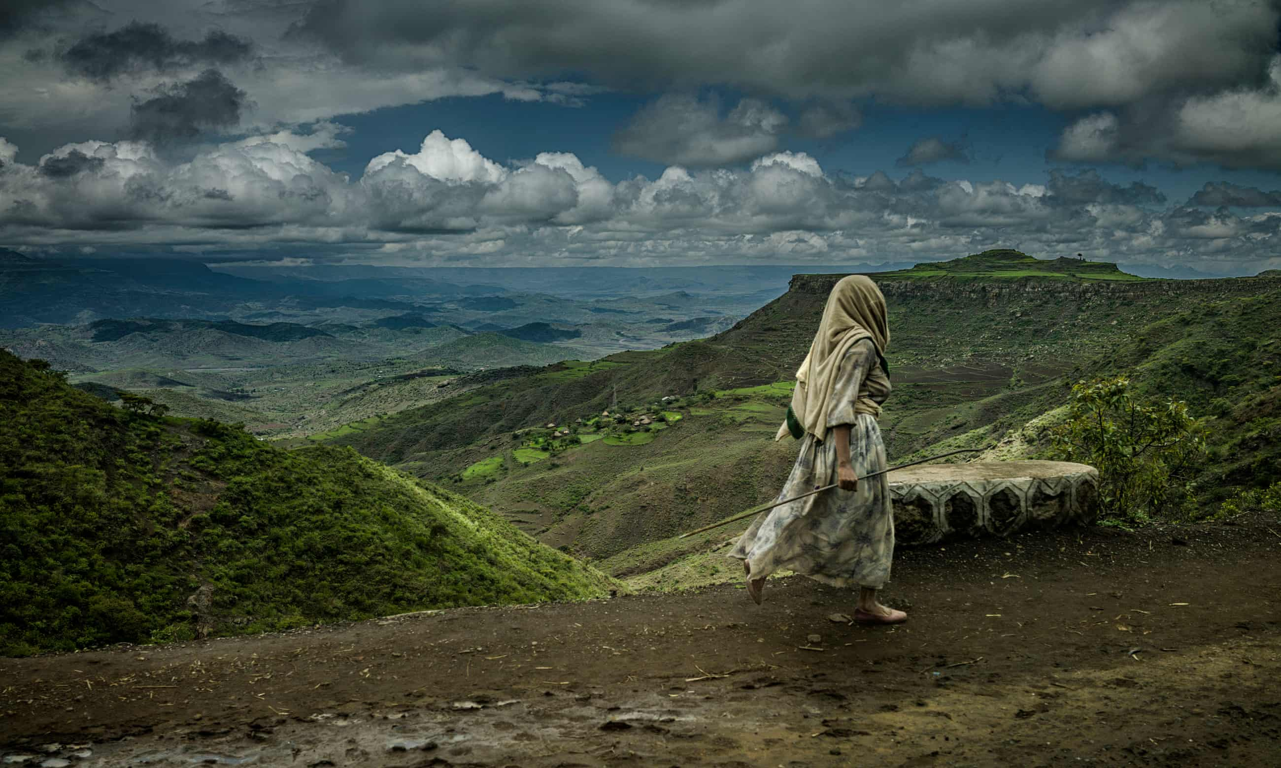 The worst drought for decades in Ethiopia's northern highlands has ended, but unusually heavy downpours threaten to ruin crops and exacerbate food insecurity as flash flooding turns roads to rivers and swamps fields Photographs by James Whitlow Delano/USAid