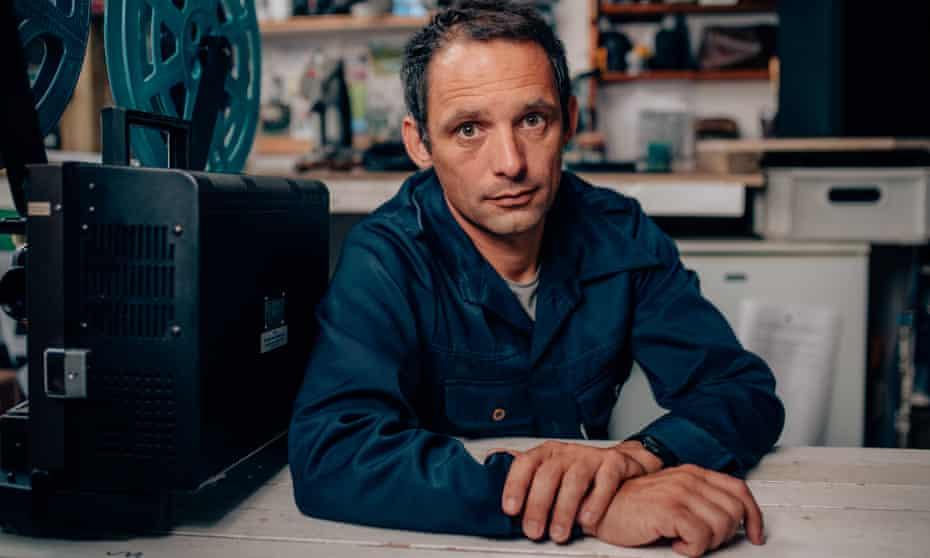 Jenkin in his studio at Newlyn School of Art. He shot Bait on a clockwork Bolex cine camera.