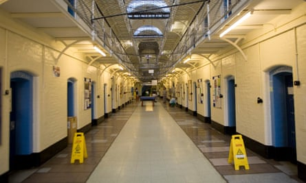 A prison block