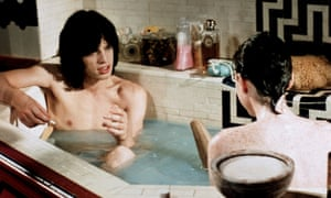 Mick Jagger and Michele Breton in Performance by Donald Cammell and Nicolas Roeg.