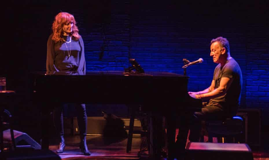 Springsteen and his wife, Patti-Scialfa.