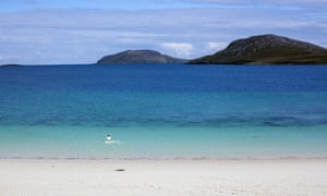 Vatersay Beach. Wild Guide Scotland