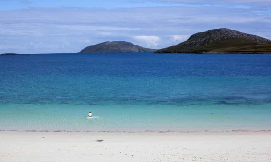 Vatersay Beach. Wild Guide Scotland