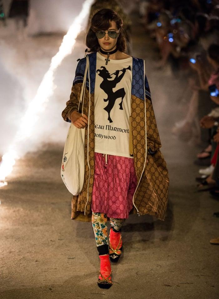 b076da14deb5 Gucci dances with death in high-glamour horror show
