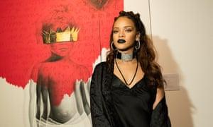 Rihanna: 'Eschewing huge choruses and established practice.'