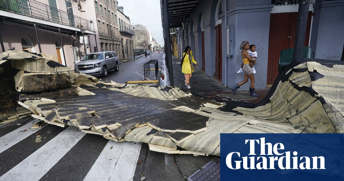 'Like a monster tried to get in': New Orleans, scarred by Katrina, surveys Ida's wreckage