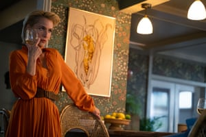 'The parents are as messed up as the kids' … Gillian Anderson as Jean, the sex therapist mother of Otis.