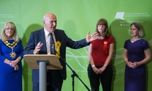 Vince Cable wins back the Twickenham seat he lost in 2015