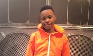 14-year-old Jaden Moodie