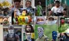 Coronavirus face masks around the world – in pictures thumbnail