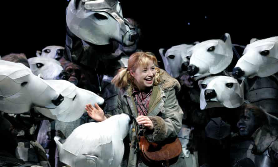 Elaine Symons as Lyra in His Dark Materials in 2004.
