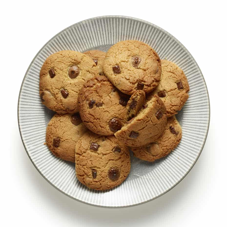 Felicity Cloake's perfect gluten-free chocolate-chip cookies.