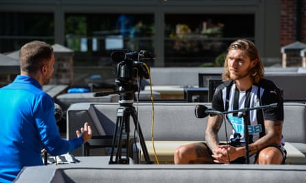 Jeff Hendrick: up for a hosting gig on Gazzetta.