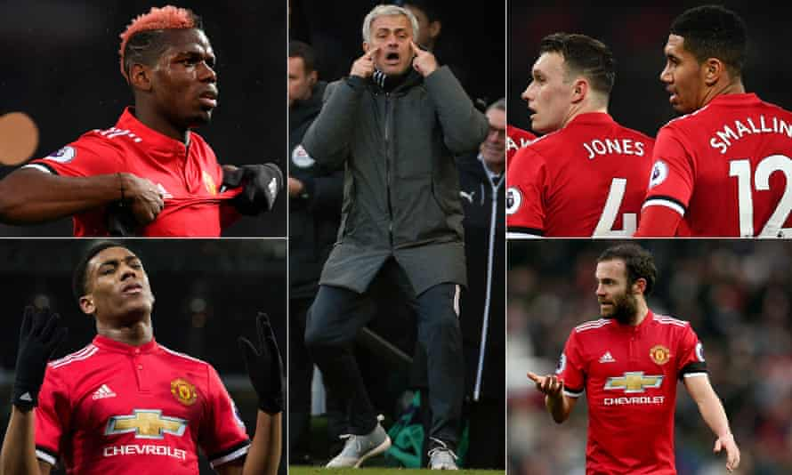 Paul Pogba, Phil Jones, Chris Smalling, Juan Mata and Anthony Martial have all struggled for consistency under Jose Mourinho