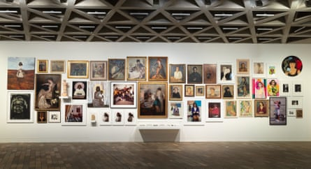 Installation view of National Gallery of Australia's 2020/2021 exhibition of women artists, Know My Name