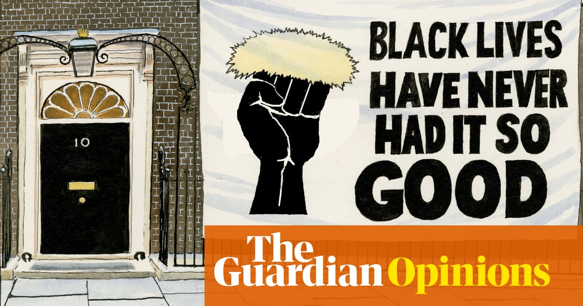 Steve Bell on the Commission on Race and Ethnic Disparities report – cartoon