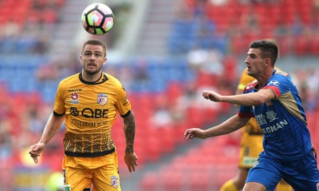 Newcastle and Perth share points in entertaining A-League encounter