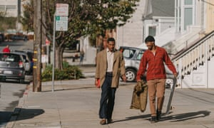 Jimmie Fails and Jonathan Majors appear in The Last Black Man In San Francisco by Joe Talbot.
