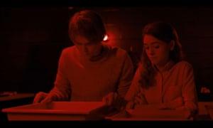 Stranger Things darkroom scene