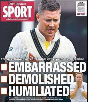8月7日星期五悉尼每日电讯报的封印