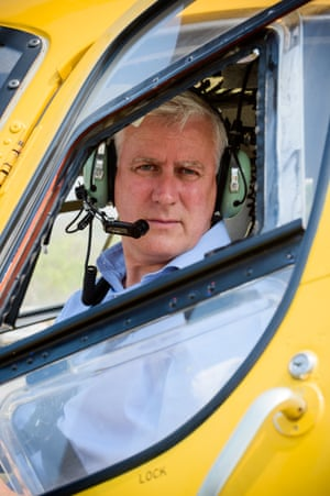 Acting prime minster Michael McCormack prepares to to fly over the Deepwater and Agnes Water fires zones on Saturday.
