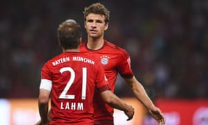 Thomas Müller signed a five-year contract with Bayern Munich last summer.