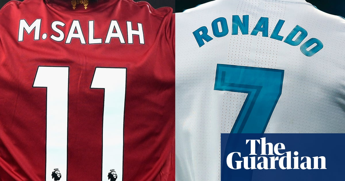 765ec107b Ronaldo v Salah – the head-to-head set to define Champions League final
