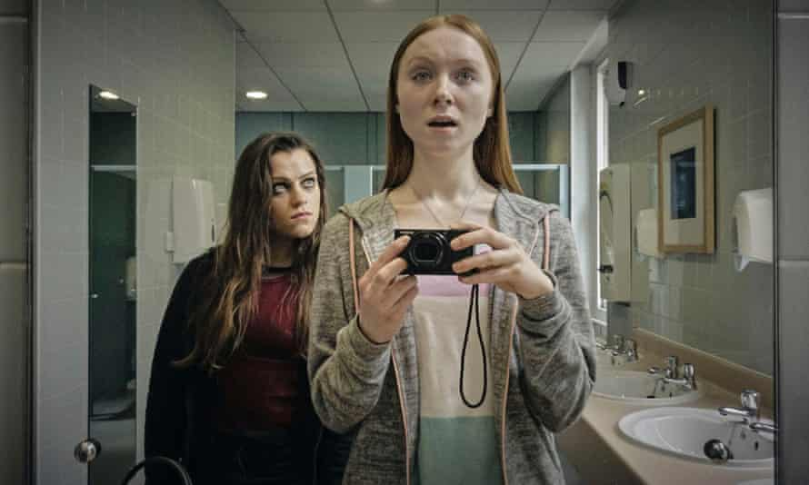 Eva O'Connor as Anna (left) and Michelle Fox as Imogene in Overshadowed
