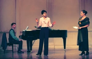 A 1996 rehearsal of Master Class, one of McNally's plays about opera.