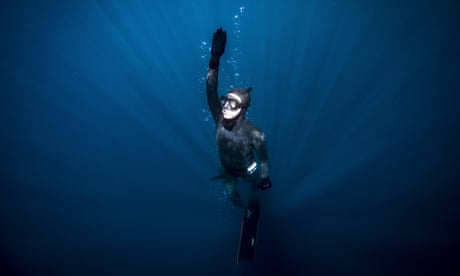 Into the blue: free-diving in Antarctica – in pictures