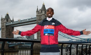 Sir Mo Farah's preparations for the London Marathon were marred by a burglary at his training camp in Addis Ababa