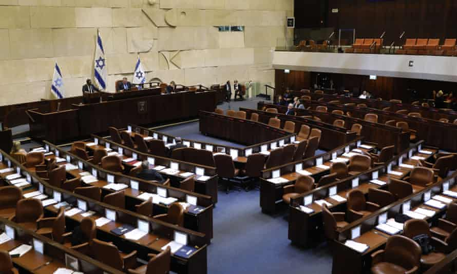 A general view of the Knesset (Israeli parliament)