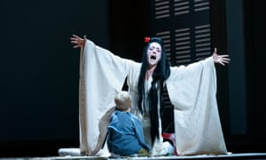 One of the great verismo interpreters ... Ermonela Jaho as Madama Butterfly.