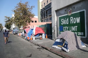 They've turned their backs on us': California's homeless crisis ...