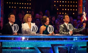 Strictly Come Dancing judges (from left to right) Craig Revel Horwood, Darcey Bussell, Shirley Ballas and Bruno Tonioli