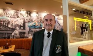John Davidson, treasurer of Harland and Wolff Welder's club