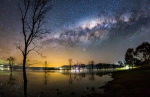 'Milky Way over Bonnie Doon' was a finalist in the 2016 David Malin Astrophotography Awards.