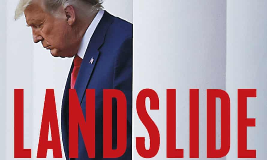 A cover image released by Holt shows Landslide: The Final Days of the Trump Presidency by Michael Wolff.