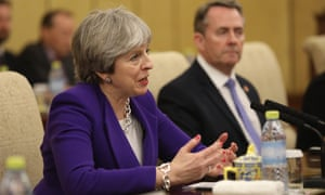 Theresa May made her comments on freedom of movement during her trip to China