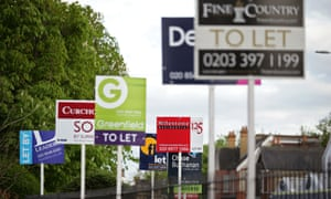 To-let signs