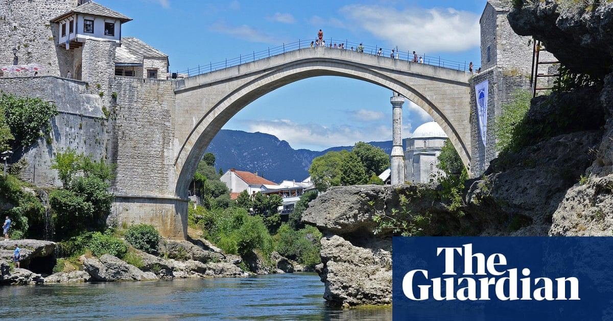 'Soul of the town': Mostar's beloved bridge inspires tale of romance and war