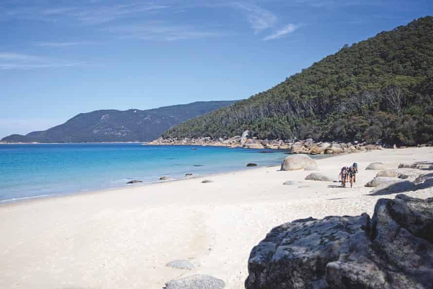 Little Waterloo is among these private bays, only a few kilometres beyond the lookout