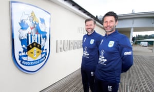 Danny and Nicky Cowley are unveiled as the new management team for Huddersfield Town.