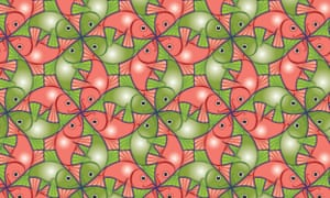 Red and green fish
