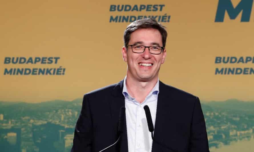 Gergely Karacsony, new mayor of Budapest